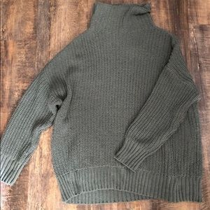 Aerie Oversized Chunky Knit Sweater